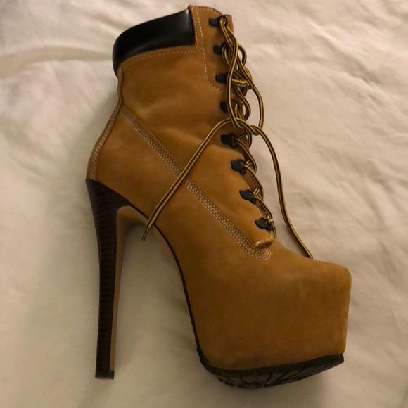 nowy wygląd nowy styl najlepiej kochany Beyoncé inspired Timberland stilettos